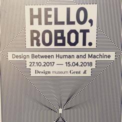Hello Robot. Gante. Bélgica.2018